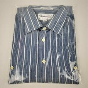 Burberrys of London Mens Striped Button Down Shirt